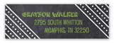 Chalkboard Grad Boy Return Address Labels