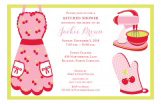 Cherry Kitchen Shower Invitation