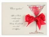 Cherry Liquor Invitation