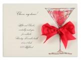 Cherry Liquor Invitation