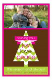 Chevron Holiday Tree Card