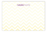 Chevron Small Flat Note Card