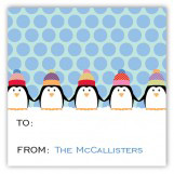 Chilly Penguins Square Sticker