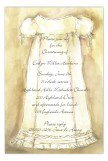 Christening Gown Invitation