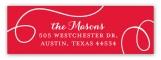 Christmas Cheer Address Label