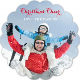 Christmas Cheer Photo Card