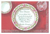Christmas China Invitation