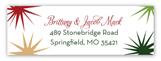 Christmas Cocktail Address Label