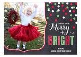 Christmas Confetti Photo Card