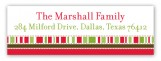 Christmas Cookie Jar Address Label