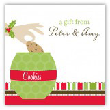 Christmas Cookie Jar Gift Tag