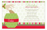 Christmas Cookie Jar Invitation