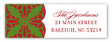 Christmas Elegance Address Label