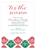 Christmas Flourish Invitation