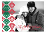 Christmas Flourish Photo Card