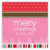 Christmas Memories Square Sticker
