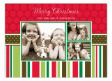 Christmas Memories Traditional Photo Card