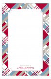 Christmas Plaid Notepad