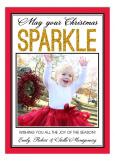 Christmas Sparkle Photo Card