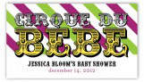 Cirque Du Bebe Neutral Rectangular Gift Tag