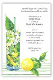 Citrus and Mint Invitation