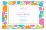 Citrus Bubbles Invitation