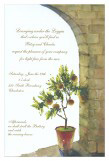 Citrus in Shade Invitation