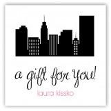 City Scene Gift Tag