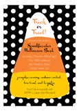 Classic Candy Corn Invitation