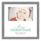 Classic Christmas Photo Card