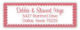 Classic Christmas Tree Address Label
