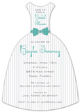 Classic Stripes Invitation