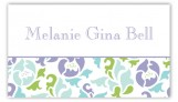 Classy Floral Calling Card