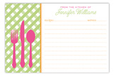 Clean Your Plate Recipe Card