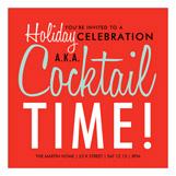 Cocktail Time Invitation
