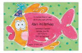 Colorful Party Fish Invitation