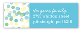 Confetti Cutie Boy Address Label