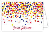 Confetti Graduate Folded Note Card