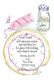 Cookie Celebrations Die-cut Invitation