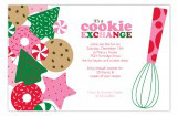 Its a Holiday Cookie Exchange Invitation
