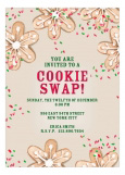 Cookie Swap Invitation