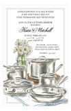 Cookware Invitation