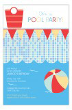 Cool Waves Pool Invitation