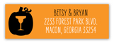 Costumes and Cocktails Address Label
