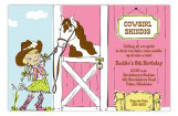Cowgirl Cutie Invitation