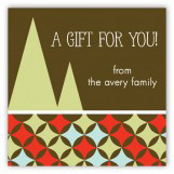 Cozy Colors Gift Tag