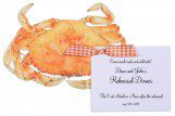 Crab Invitation