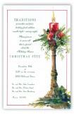 Crimson Candle Invitation