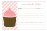 Cupcake Craving Recipe Card