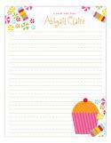 Cupcake Cutie Notepad